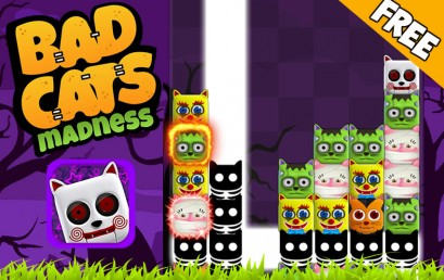 BADCATS MADNESS RELEASED FOR IOS & ANDROID